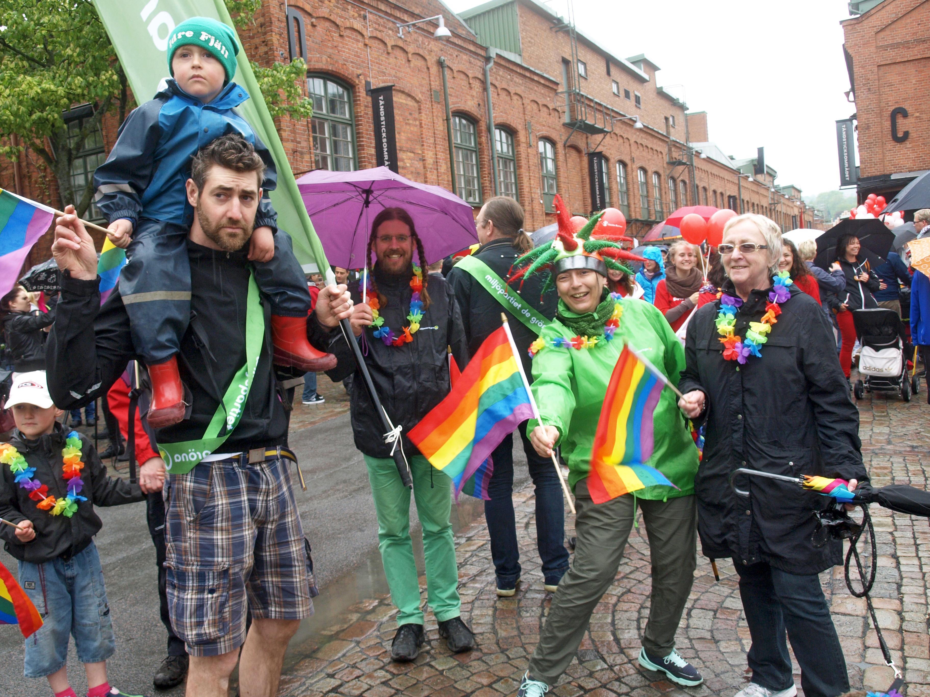 1 000 personer i jonkopings forsta prideparad