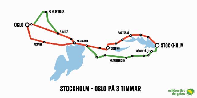 oslo till stockholm flyg