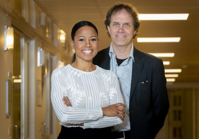 Alice Bah Kuhnke och Pär Holmgren är Miljöpartiets två toppkandidater