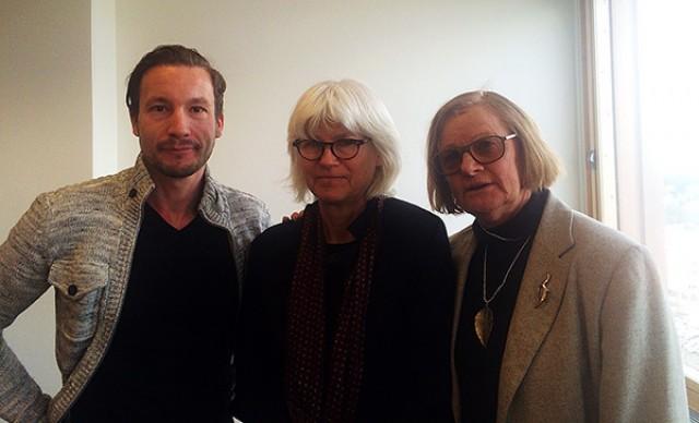 Peter Godlund, Karin Svensson Smith och Gunilla Wahlén.